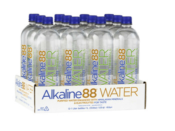 Alkaline Water, 8.8 PH, 1000 ml. (12 Count)