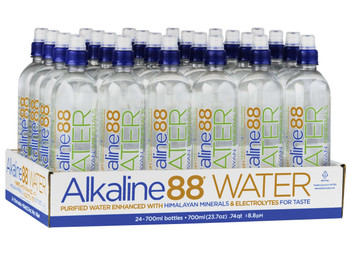 Alkaline Water, 8.8 PH, 700 ml. (24 Count)