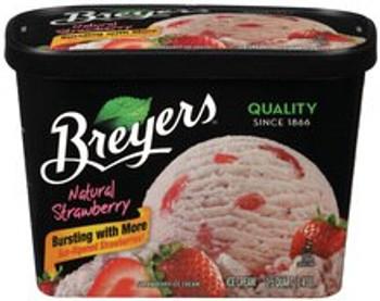 Breyer's, Strawberry Ice Cream, 48 oz. (1 Count)