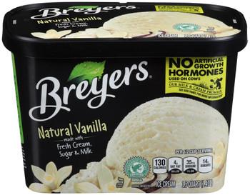 Breyer's, Vanilla Ice Cream, 48 oz. (1 Count)