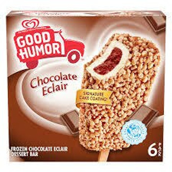 Good Humor, Chocolate Eclaire Bar, 3 oz. (6 Count)
