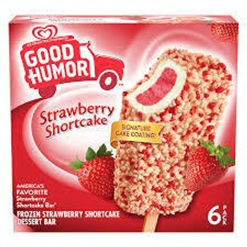 Good Humor, Strawberry Shortcake Bar, 3 oz. (6 Count)