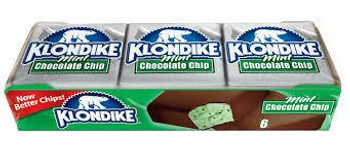 Klondike, Mint Chocolate Chip Bar, 4 oz. (6 Count)
