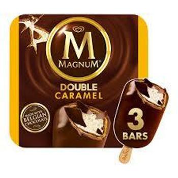 Magnum, Double Caramel Ice Cream Bar, 3.3 oz. (3 Count)
