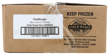 Field Roast, Plant Based & Vegetarian Fieldburger, 3.25 oz. (48 Count)