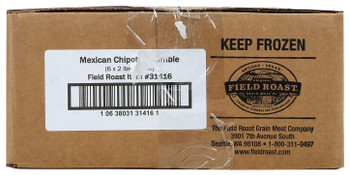Field Roast, Plant Based & Vegetarian Mexican Chipotle Crumble, 2 lb. (6 Count)