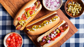 Field Roast, Plant Based & Vegetarian All Americn Hot Dog, 10.4 lb. (1 Count)