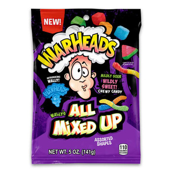 Warheads, All Mixed Up, 5 oz. (12 Count)