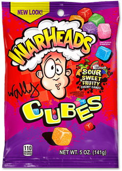 Warheads, Cubes, 5 oz. (12 Count)