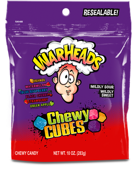 Warheads, Cubes, 10 oz. (12 Count)