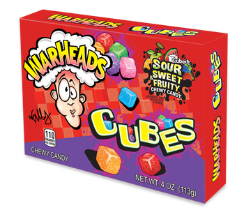 Warheads, Cubes, 4 oz. (12 Count)