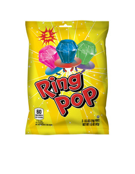 Topps, Fruit Ring Pop, 1.5 oz (12 Count)