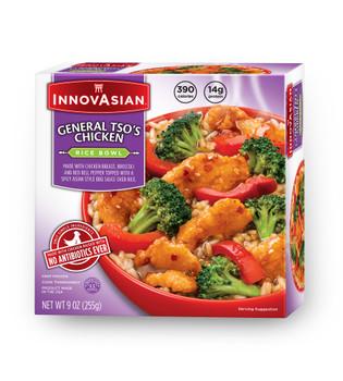 InnovAsian General Tso's Chicken Bowl, 9 oz (1 count)