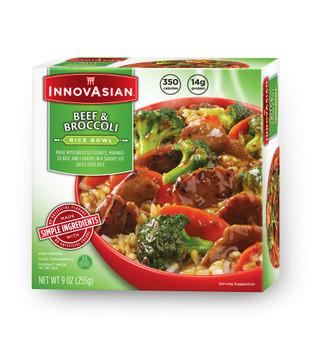 InnovAsian Beef & Broccoli Bowl, 9 oz (1 count)
