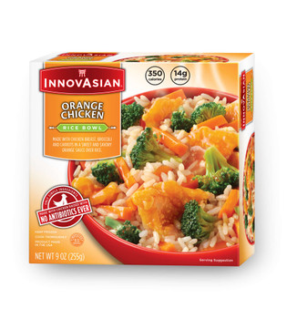 InnovAsian Orange Chicken Bowl, 9 oz (1 count)