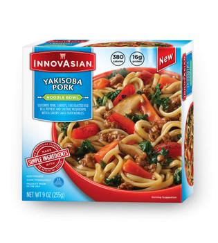InnovAsian Yakisoba Pork Bowl, 9 oz (1 count)