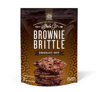 Sheila G's, Chocolate Chip Brownie Brittle, 5 oz. (12 Count)
