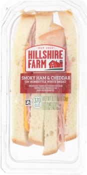 Hillshire Farm, Smoky Ham & Cheddar Wedge, 6.1 oz. (10 Count)