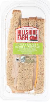 Hillshire Farm, Turkey Breast & Natural Cheddar Wedge, 6.1 oz. (10 Count)