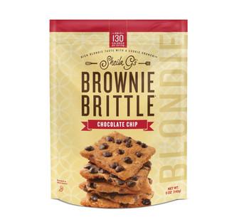 Sheila G's, Chocolate Chip Blondie Brittle, 5 oz. (12 Count)
