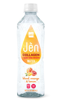 Alo Drink, Collagen Blood Orange & Lemon, 15.5 oz. (12 Count)