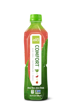 Alo Drink, Comfort Watermelon & Peach, 16.9 oz. (12 Count)
