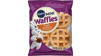 Pillsbury, Mini Waffle Maple Madness, 2.47 oz. (72 Count)