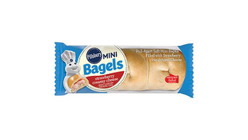 Pillsbury, Strawberry Creamy Cheese Mini Bagels, 2.43 oz. (72 Count)