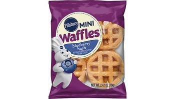 Pillsbury, Frozen Mini Blueberry Bash Waffles, 2.47 oz. (72 Count)