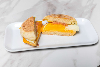 Cuisine Solutions, Egg, Uncured Bacon & Cheddar on an English Muffin, (45 Count)