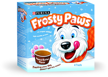 Frosty Paws, Peanut Butter Flavored Dog Ice Cream Cup, 3.25 oz (48 Count)