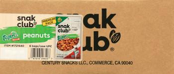Snak Club, Tajin Classico Peanuts, 7.5 oz. (6 Count)