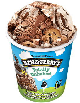 Ben & Jerry's, Totally Unbaked, Pint (1 count)