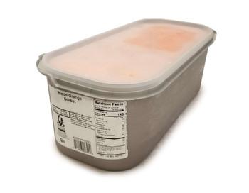 G.S Gelato, Blood Orange Sorbetto, 5 L. (1 Count)