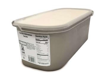 G.S Gelato, Indonesian Vanilla Gelato, 5 L. (1 Count)