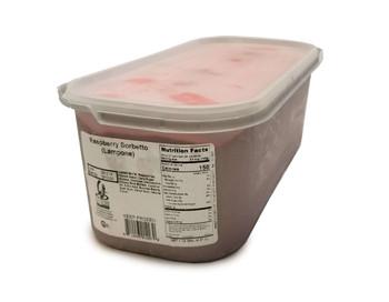 G.S Gelato, Raspberry Sorbetto, 5 L. (1 Count)