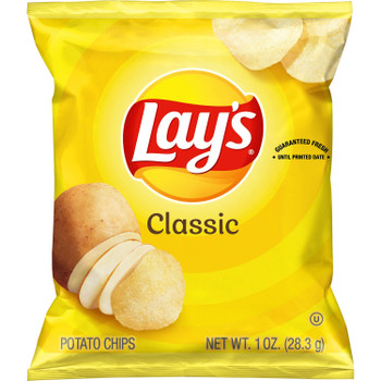 Lay's, Classic. 1 oz. Bag (104 Count)