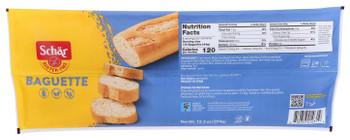 Schar, Gluten Free Baguette, 12.3 oz. (6 Count)