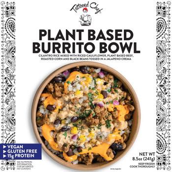 Tattoed Chef, Plant Powered Burrito Bowl, 8.5 oz. (1 Count)