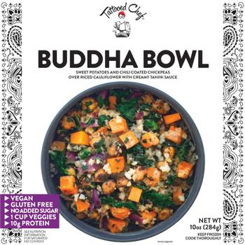 Tattooed Chef, Riced Cauliflower Buddah Bowl, 10.0 oz. (1 Count)