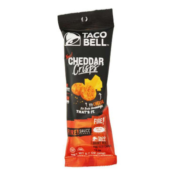 Taco Bell, Fire Cheddar Crisps, .7 oz. (48 Count)