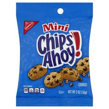 Chips Ahoy!, Mini, 2.0 oz. BIG Bag (60 Count)