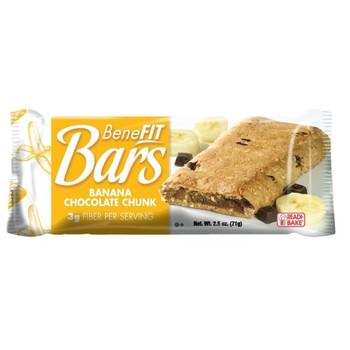 Readi-Bake, Benefit Bars Banana Chocolate Chunk 2.5 oz (48 count)