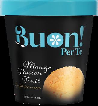 Buon! Per Te, Mango Passion Fruit Ice Cream, Pint (1 Count)