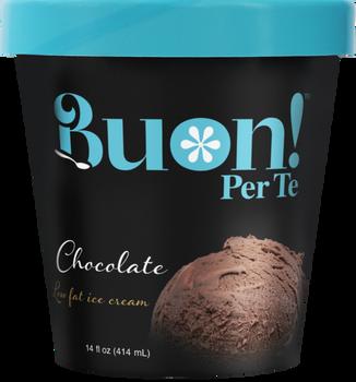 Buon! Per Te, Chocolate Ice Cream, Pint (1 Count)