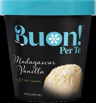 Buon! Per Te, Vanilla Ice Cream, Pint (1 Count)