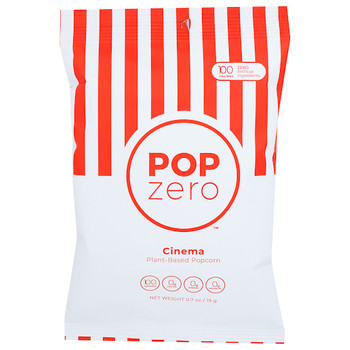 Pop Zero, Guilt Free Cinema Popcorn, 5 Oz. (9 Count)