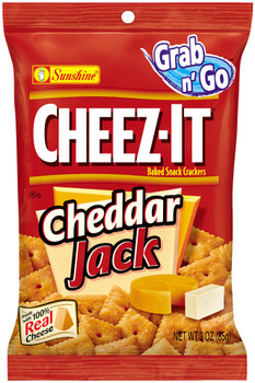 Cheez-It, Cheddar Jack, 3.0 oz. Bag (1 Count)