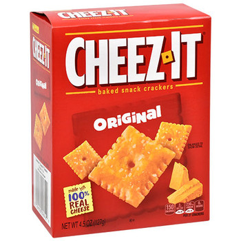 Cheez-It, Cheese Crackers, 4.5 oz. Box (1 Count)