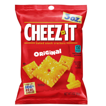 Cheez-It, Original, 3.0 oz. Bag (1 Count)